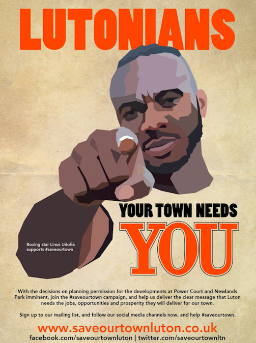 Lutonians – your town needs YOU