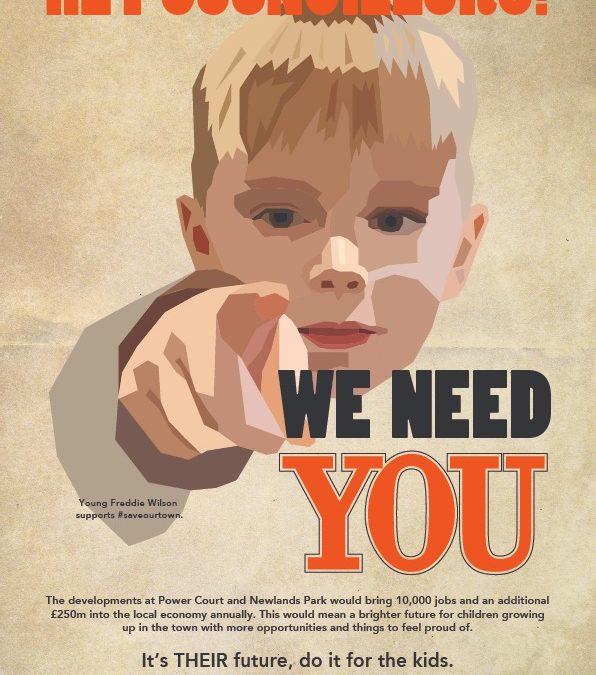 You've got the POWER! Councillors told, make Luton dreams come true